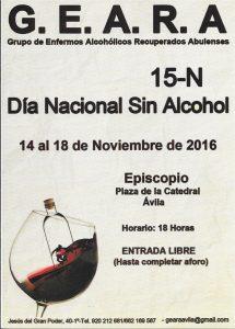 15-N  Día Nacional Sin Alcohol 2016
