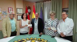 Colaboración del Rotary Club con GEARA y ASPACE.